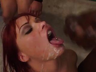 Katja Swallow Juicy Sperm
