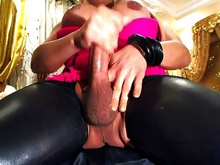 Celeste lures you jerk off for her - 3 part 8