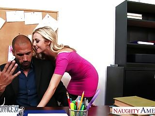 Superb Blonde Karla Kush Fucking In The Office