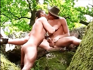 Two Wilderness Dudes Sucking Dick