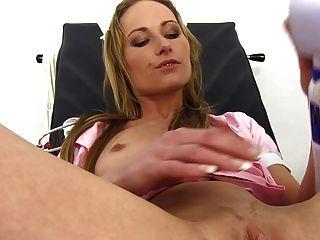 Nurse Shows Daryl Her Womb
