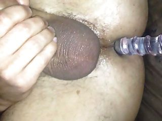 Wife Fucks Husband With Glass Dildo
