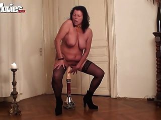 Fun Movies Granny Rides Monster Dildo