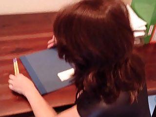 Secretary Work With Nylon Layers