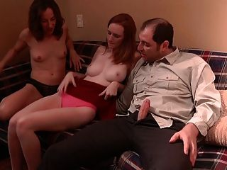 He Trains A Girl With Supervision Of Mature Woman