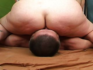 Busty Woman Sits On His Face