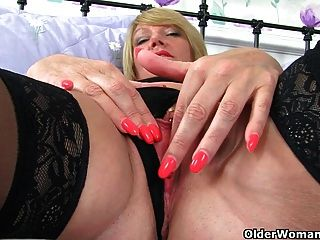 British Milfs Amy And Tori Love Playing With A Dildo