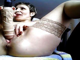 Mom Masturbate On Webcam