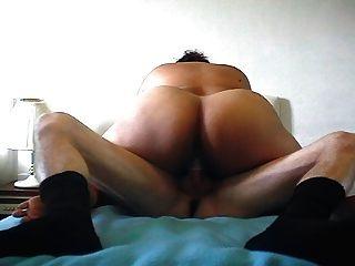 Kat Rides Danny To Orgasm