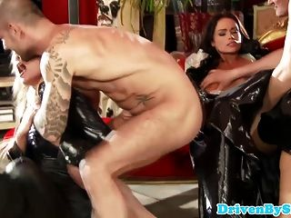 Cfnm Euro Babes Enjoy Kinky Rough Fuck