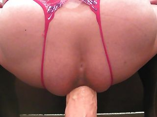 Riding Monster Dildo Addiction 71 Closeup Jan-11-2015