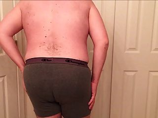 Chubby Guy Strips Down