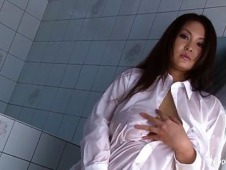 Busty Japanese Babe Teases You In The Shower