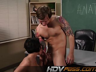 Hdvpass Busty Teacher Dylan Ryder Lets Student Fuck On Her D