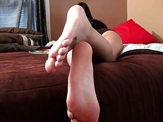 Foot fetish crowd funding with goddess brianna 7