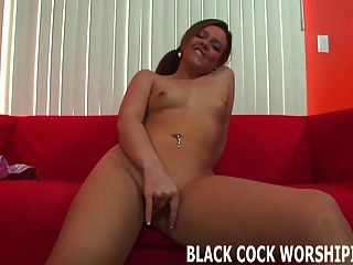 I Finally Get To Taste My First Big Black Cock