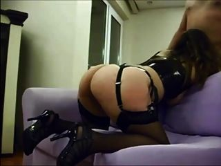 Latex And Stockings Milf In Horny Fuck