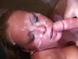 Big Tit Blonde Bukkake
