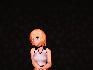 Mmd Sexy Cute Blondie In The Champagne Room Gv00150