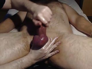 Me Edge Tease Milk Hairy Hung Bull