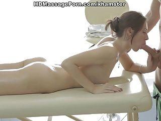 Hot Anal Sex Massage For A Filthy Brunette Scene 1