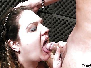 Hot Oral Exchange At Work