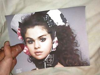 Selena Gomez Cum Tribute 4