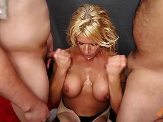 Big Tit Milf Gina West Blowbangs