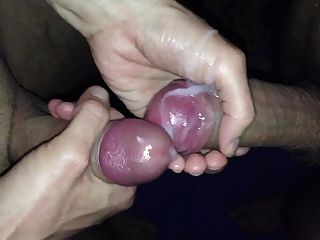 Wank And Cum Togethet