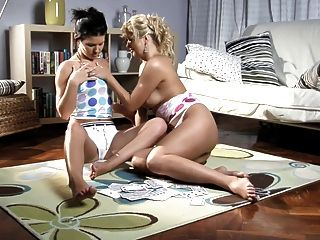 Sapphicerotica Lesbians Enjoy Exploring Each Other