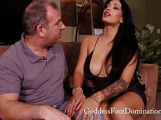 Controlling His Desires - Foot Fetish - Footjob