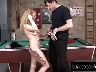 Blonde German Whore Gets Fucked