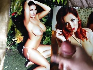Cumming All Over Lucy Pinder, Lucy Colette And Holly Peers