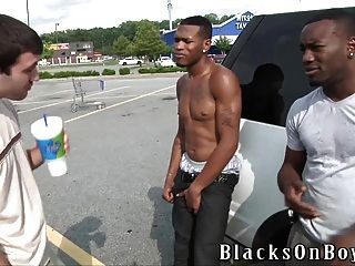 Caleb Bridges Gets A Double Dose Of Black Dick