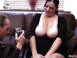 Photographer Tricks Chubby Ex Into Sex