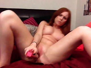Redhead Masturbates To Amazing Orgasm