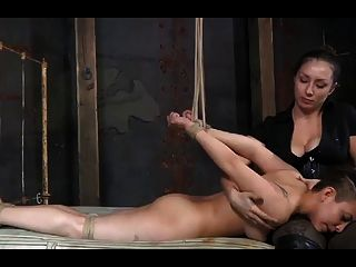 Innocent shirley profound fucked machined while whipped 1