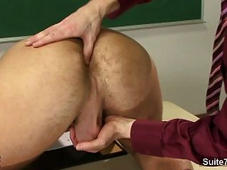 Sexy Gays Screwing Asses In The Classroom