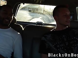 German Boy Legacy Gets His First Black Cock