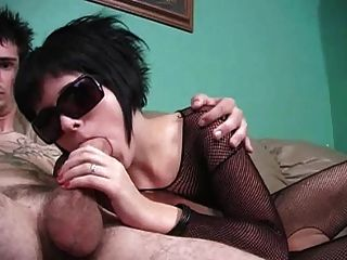 Short Hair Brunette Blowjob