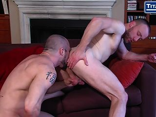 Hairy Stud Fucks Jock Fast From Behind
