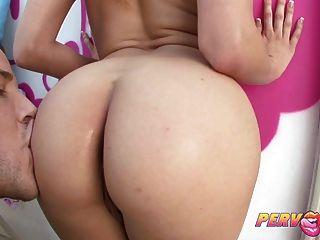 Pervcity Bailey Blue Sucking Cock