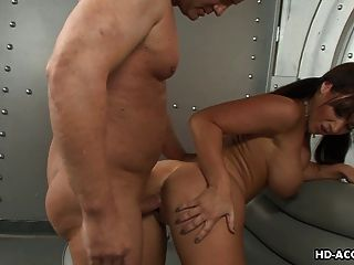 Lustful Bimbo Enjoys Being Pounded Hard