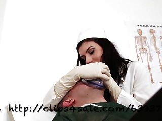 Unp043-the Evil Nurse-bdsm Smother Domination-preview