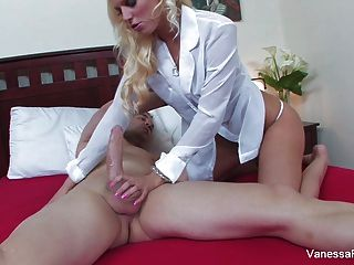Blonde Cutie Vanessa Cage Just Wants A Creampie