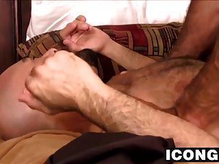 Nick Teases Adams Hole With His Thick Cock Before Banging It