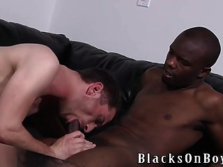 Mason Evans Is Not Stranger To Black Cock Anymore