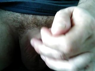 Stroking My Big Hard Cock