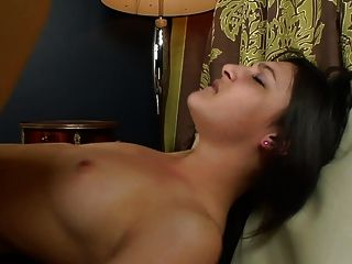 Petite Teenage Chick Rides Huge Dick