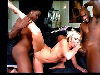 Two Black Dicks One White Chick 3